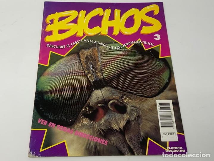 Coleccionismo de Revistas y Periódicos: BICHOS Nº 1,2,3 MAS SUPLEMENTO. PLANETA-DE AGOSTINI GAFAS 3D INCLUIDAS - Foto 4 - 174297053