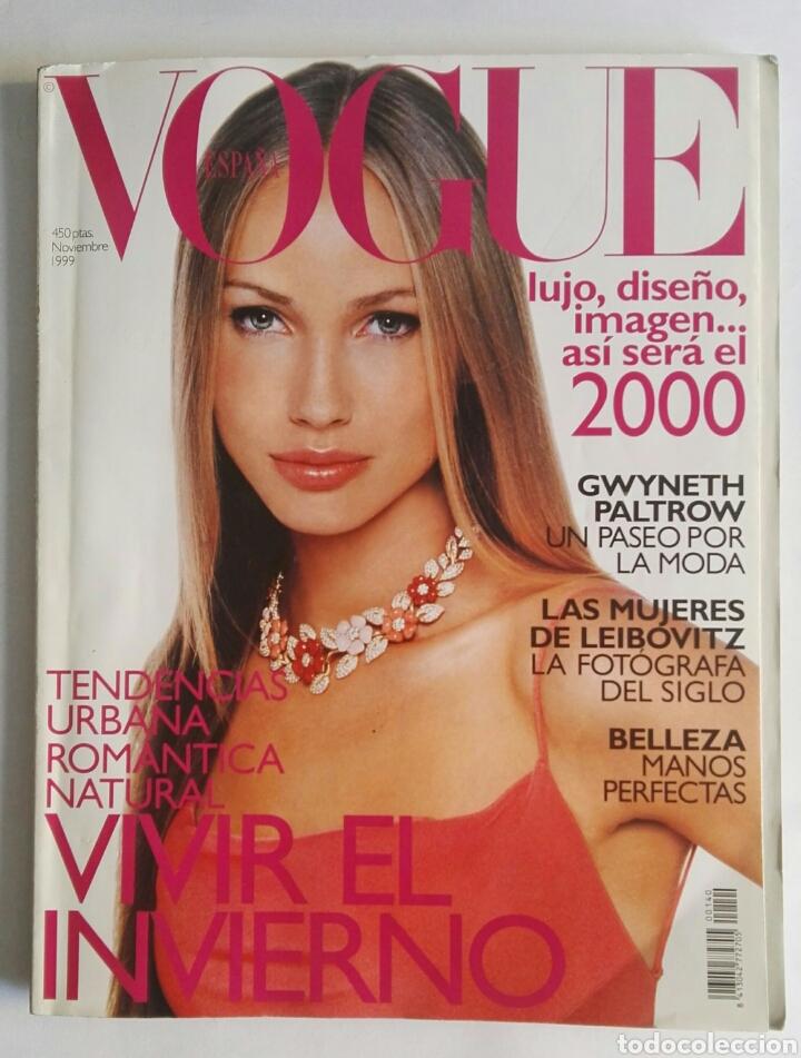 VOGUE NOVIEMBRE 1999 (Coleccionismo - Revistas y Periódicos Modernos (a partir de 1.940) - Otros)