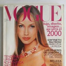 Coleccionismo de Revistas y Periódicos: VOGUE NOVIEMBRE 1999. Lote 174368875