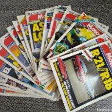 Coleccionismo de Revistas y Periódicos: LOTE 16 REVISTAS MOTOR 16 AÑO 1986. Lote 174423109