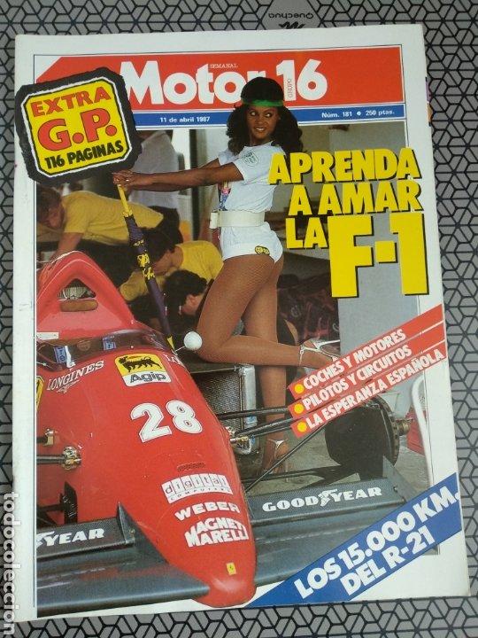 Coleccionismo de Revistas y Periódicos: Lote 25 revistas Motor 16 año 1987 - Foto 3 - 174423218