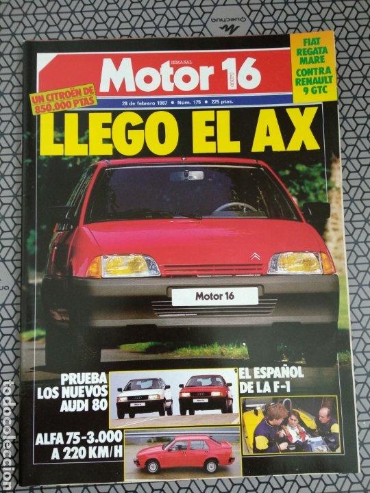 Coleccionismo de Revistas y Periódicos: Lote 25 revistas Motor 16 año 1987 - Foto 5 - 174423218