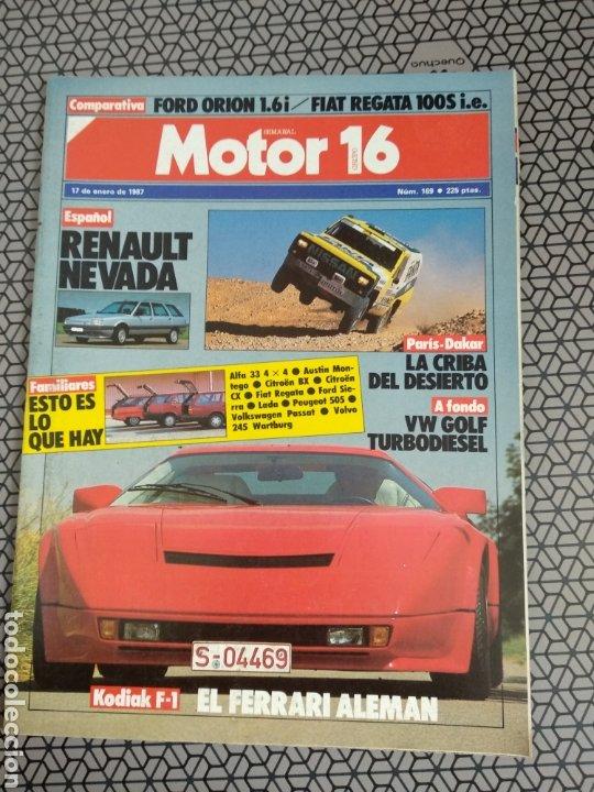 Coleccionismo de Revistas y Periódicos: Lote 25 revistas Motor 16 año 1987 - Foto 6 - 174423218