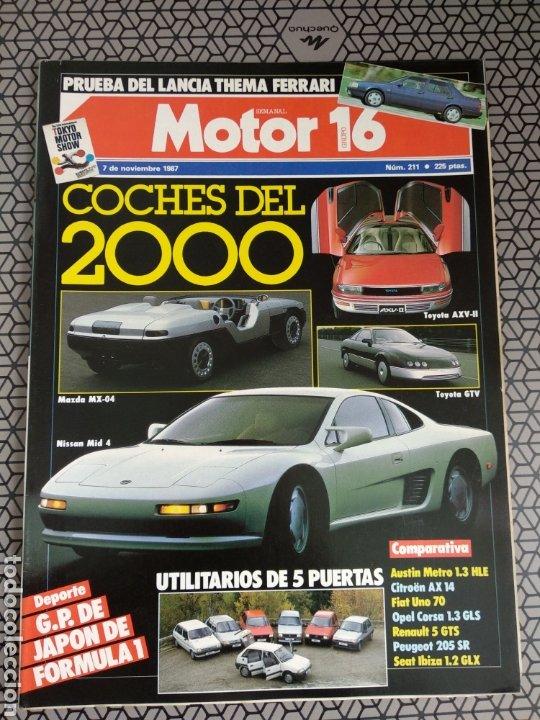 Coleccionismo de Revistas y Periódicos: Lote 25 revistas Motor 16 año 1987 - Foto 7 - 174423218