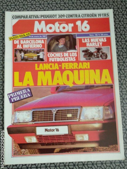 Coleccionismo de Revistas y Periódicos: Lote 25 revistas Motor 16 año 1987 - Foto 8 - 174423218