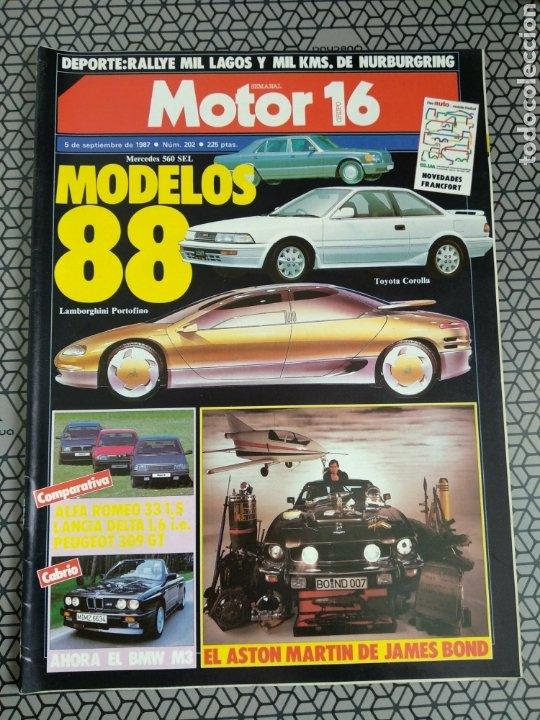 Coleccionismo de Revistas y Periódicos: Lote 25 revistas Motor 16 año 1987 - Foto 10 - 174423218