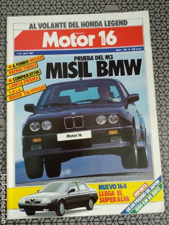Coleccionismo de Revistas y Periódicos: Lote 25 revistas Motor 16 año 1987 - Foto 11 - 174423218