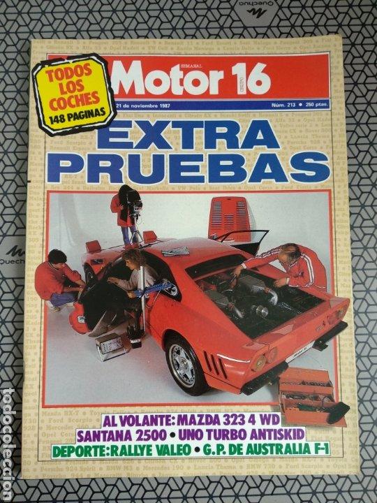 Coleccionismo de Revistas y Periódicos: Lote 25 revistas Motor 16 año 1987 - Foto 13 - 174423218
