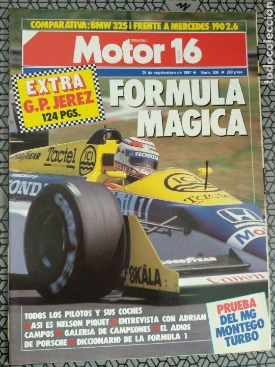 Coleccionismo de Revistas y Periódicos: Lote 25 revistas Motor 16 año 1987 - Foto 15 - 174423218