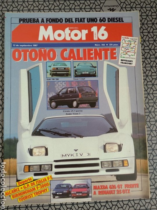 Coleccionismo de Revistas y Periódicos: Lote 25 revistas Motor 16 año 1987 - Foto 16 - 174423218