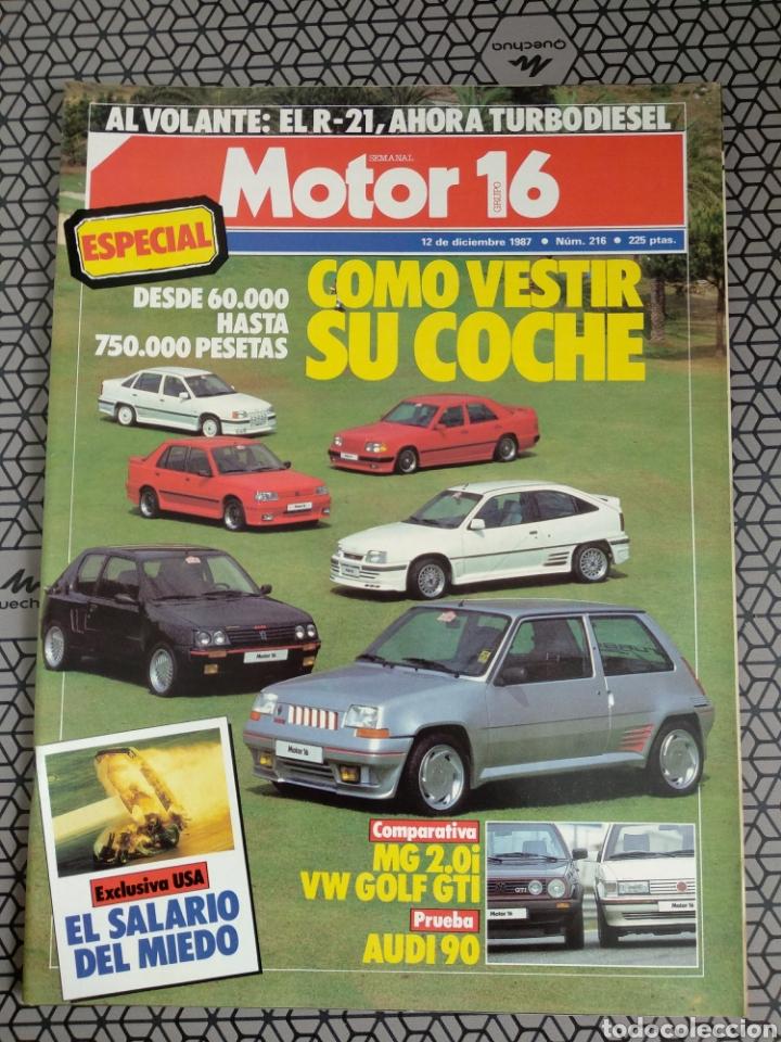 Coleccionismo de Revistas y Periódicos: Lote 25 revistas Motor 16 año 1987 - Foto 18 - 174423218