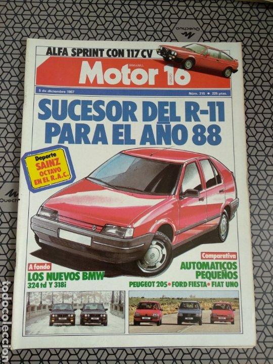 Coleccionismo de Revistas y Periódicos: Lote 25 revistas Motor 16 año 1987 - Foto 19 - 174423218