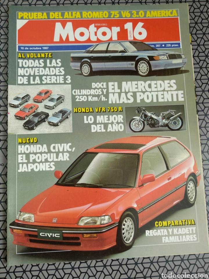 Coleccionismo de Revistas y Periódicos: Lote 25 revistas Motor 16 año 1987 - Foto 22 - 174423218