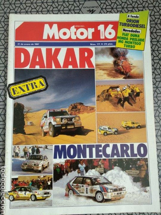 Coleccionismo de Revistas y Periódicos: Lote 25 revistas Motor 16 año 1987 - Foto 25 - 174423218