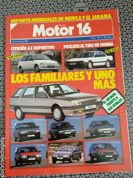 Coleccionismo de Revistas y Periódicos: Lote 25 revistas Motor 16 año 1987 - Foto 26 - 174423218