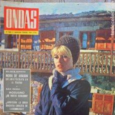 Coleccionismo de Revistas y Periódicos: BRIGITTE BARDOT REVISTA ONDAS N.268. FEBRERO 1964.. Lote 174435864