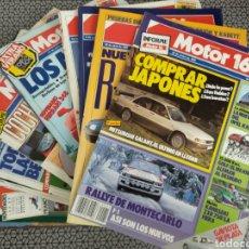 Coleccionismo de Revistas y Periódicos: LOTE 19 REVISTAS MOTOR 16 AÑO 1989. Lote 174437810