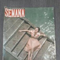 Coleccionismo de Revistas y Periódicos: LOTE DE 14 REVISTAS SEMANA DEL 1950 - MADRID, SEMANA AÑO XI – 1950 - PRECIO: 4 PTAS.. Lote 174456717