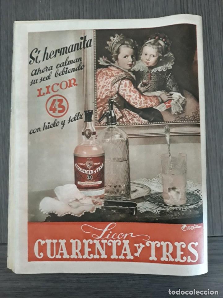 Coleccionismo de Revistas y Periódicos: Lote de 14 revistas Semana del 1950 - Madrid, Semana Año XI – 1950 - Precio: 4 PTAS. - Foto 14 - 174456717