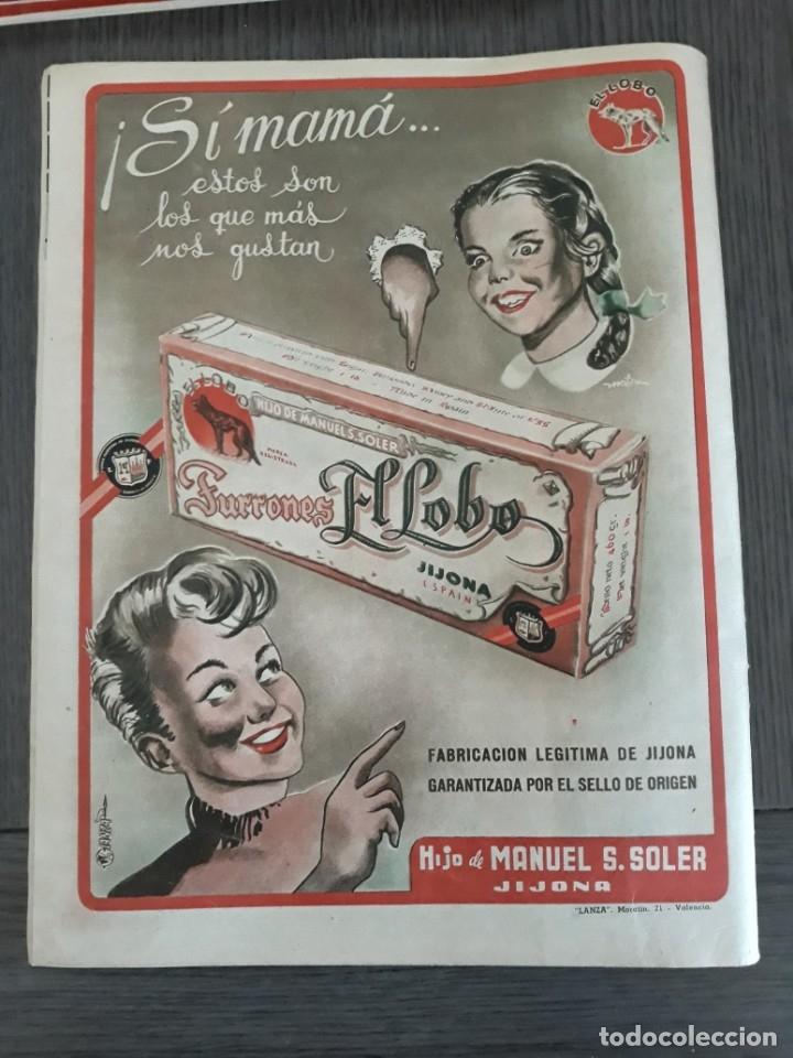 Coleccionismo de Revistas y Periódicos: Lote de 14 revistas Semana del 1950 - Madrid, Semana Año XI – 1950 - Precio: 4 PTAS. - Foto 24 - 174456717