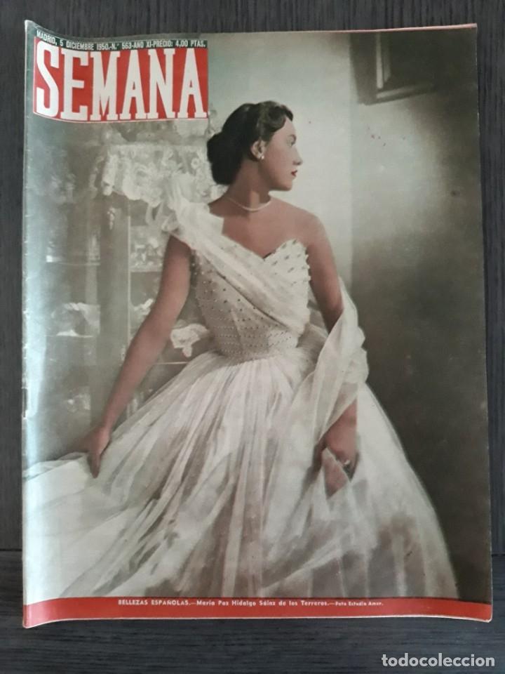 Coleccionismo de Revistas y Periódicos: Lote de 14 revistas Semana del 1950 - Madrid, Semana Año XI – 1950 - Precio: 4 PTAS. - Foto 25 - 174456717