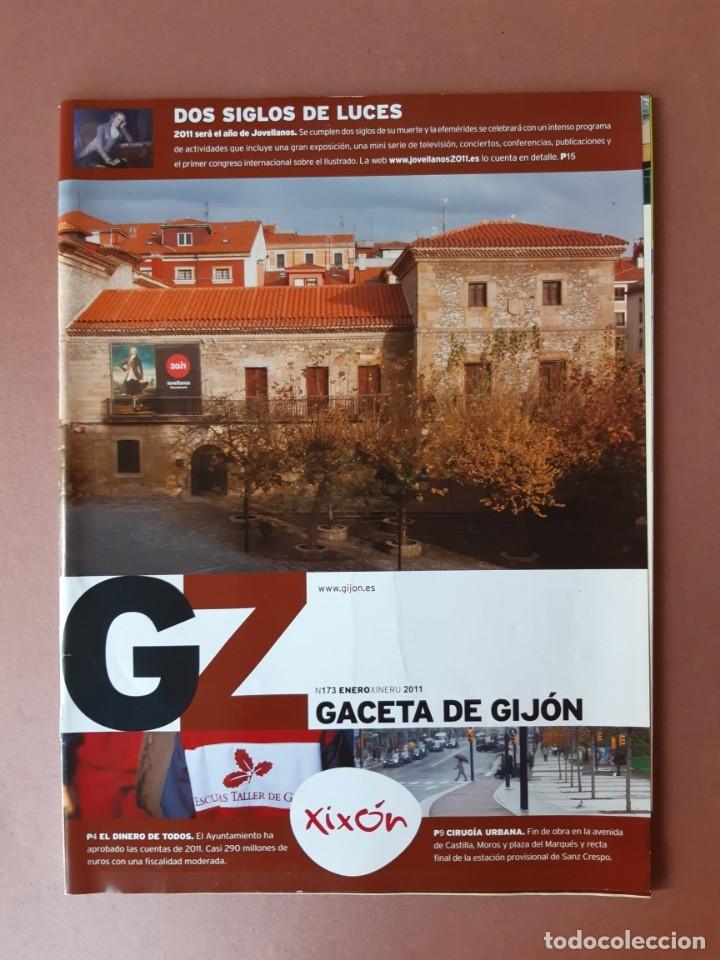 REVISTA GACETA DE GIJÓN. NÚMERO 173. AÑO 2011. AYUNTAMIENTO DE GIJÓN. (Coleccionismo - Revistas y Periódicos Modernos (a partir de 1.940) - Otros)