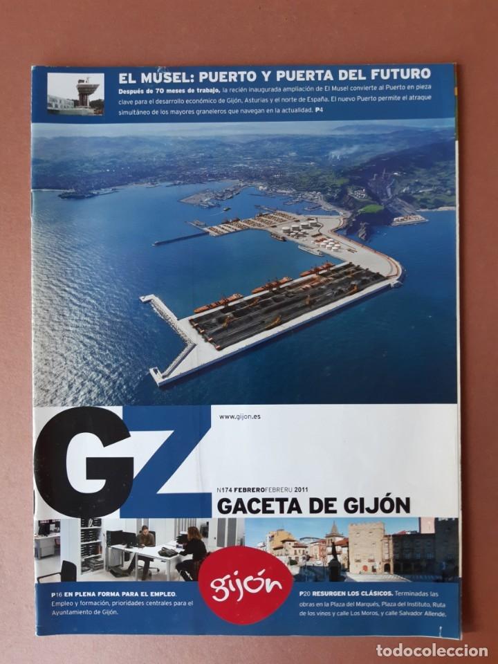 REVISTA GACETA DE GIJÓN. NÚMERO 174. AÑO 2011. AYUNTAMIENTO DE GIJÓN. (Coleccionismo - Revistas y Periódicos Modernos (a partir de 1.940) - Otros)