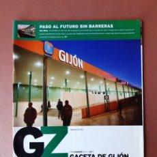 Coleccionismo de Revistas y Periódicos: REVISTA GACETA DE GIJÓN. NÚMERO 175. AÑO 2011. AYUNTAMIENTO DE GIJÓN.. Lote 174464864