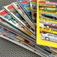Coleccionismo de Revistas y Periódicos: LOTE 37 REVISTAS MOTOR 16 AÑO 1991. Lote 174486352