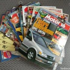 Coleccionismo de Revistas y Periódicos: LOTE 16 REVISTAS MOTOR 16 AÑO 1996. Lote 174488033