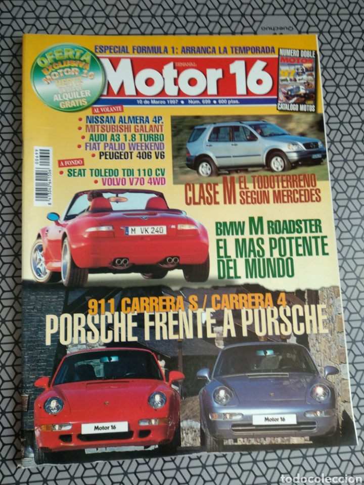 Coleccionismo de Revistas y Periódicos: Lote 50 revistas Motor 16 año 1997 - Foto 3 - 174488927