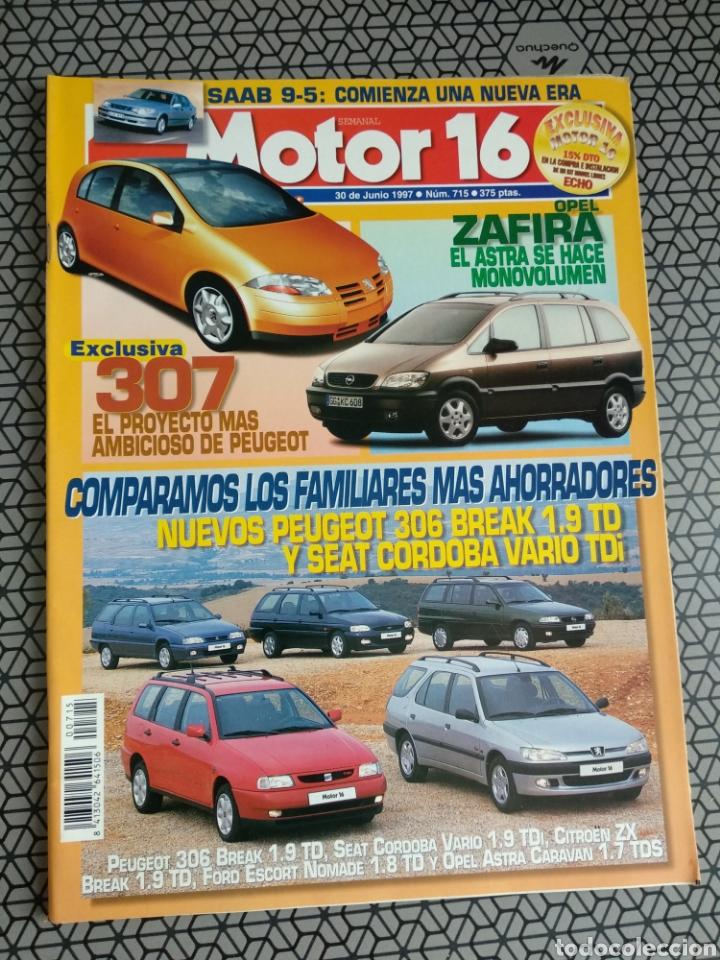 Coleccionismo de Revistas y Periódicos: Lote 50 revistas Motor 16 año 1997 - Foto 4 - 174488927