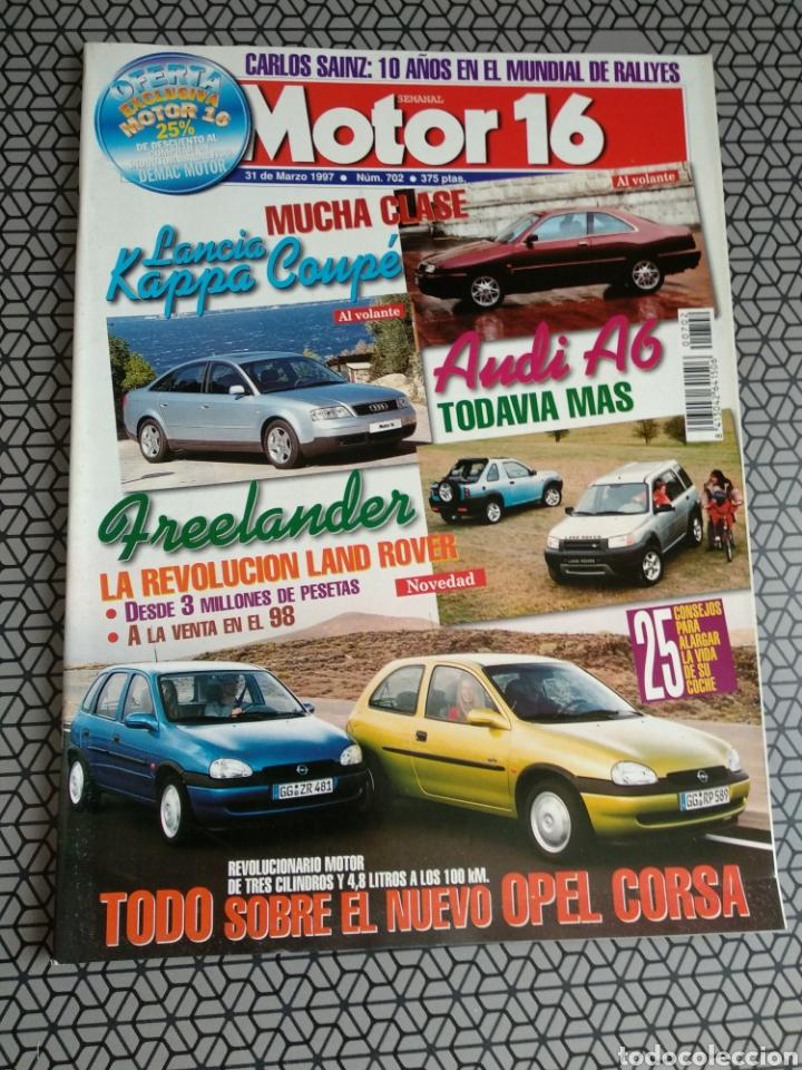 Coleccionismo de Revistas y Periódicos: Lote 50 revistas Motor 16 año 1997 - Foto 5 - 174488927