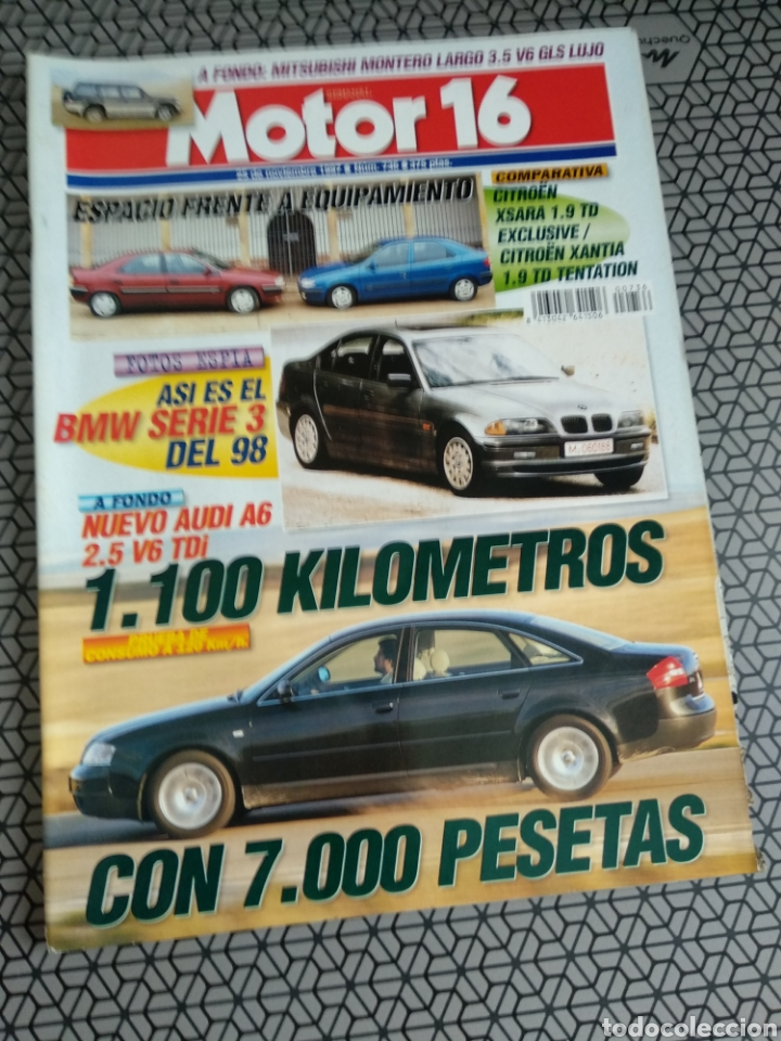 Coleccionismo de Revistas y Periódicos: Lote 50 revistas Motor 16 año 1997 - Foto 7 - 174488927