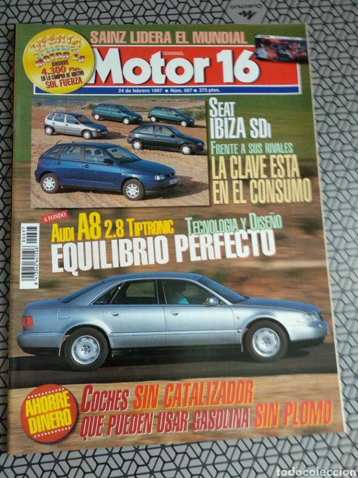 Coleccionismo de Revistas y Periódicos: Lote 50 revistas Motor 16 año 1997 - Foto 10 - 174488927