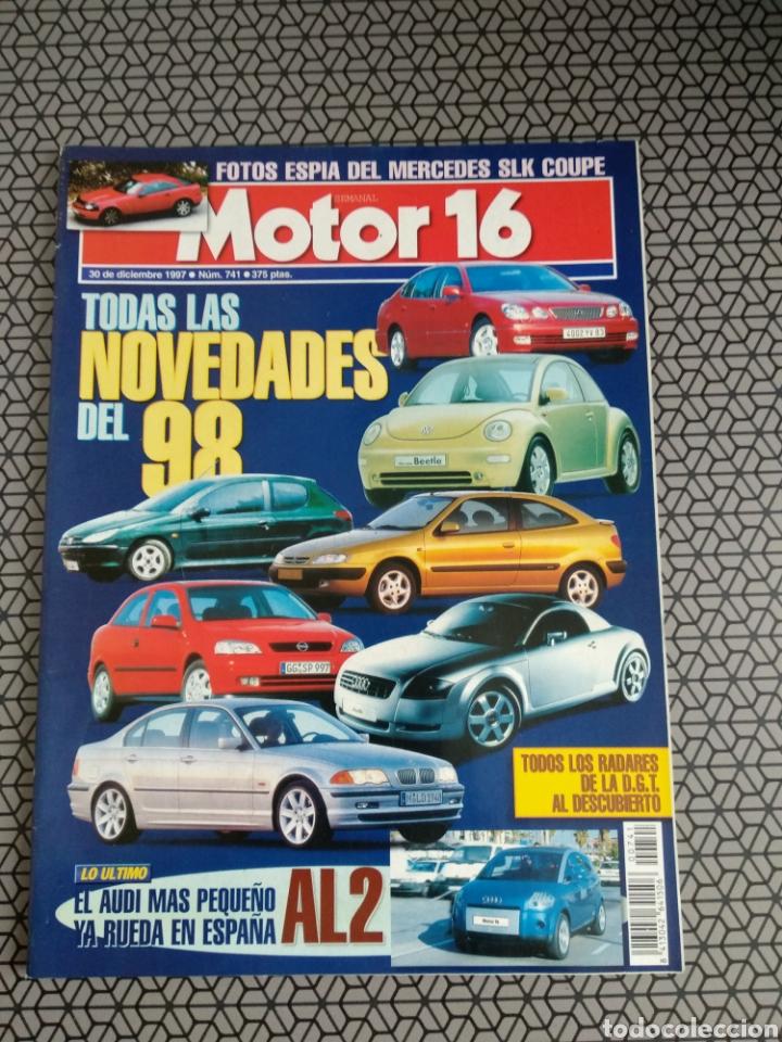 Coleccionismo de Revistas y Periódicos: Lote 50 revistas Motor 16 año 1997 - Foto 12 - 174488927
