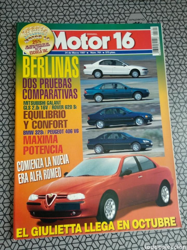 Coleccionismo de Revistas y Periódicos: Lote 50 revistas Motor 16 año 1997 - Foto 16 - 174488927