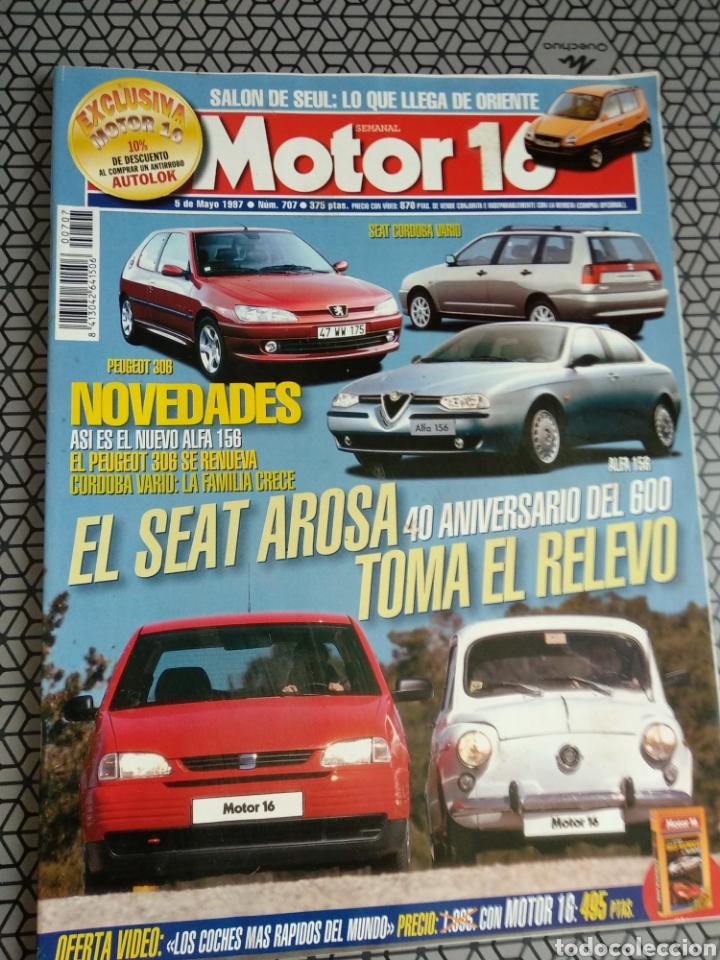 Coleccionismo de Revistas y Periódicos: Lote 50 revistas Motor 16 año 1997 - Foto 17 - 174488927