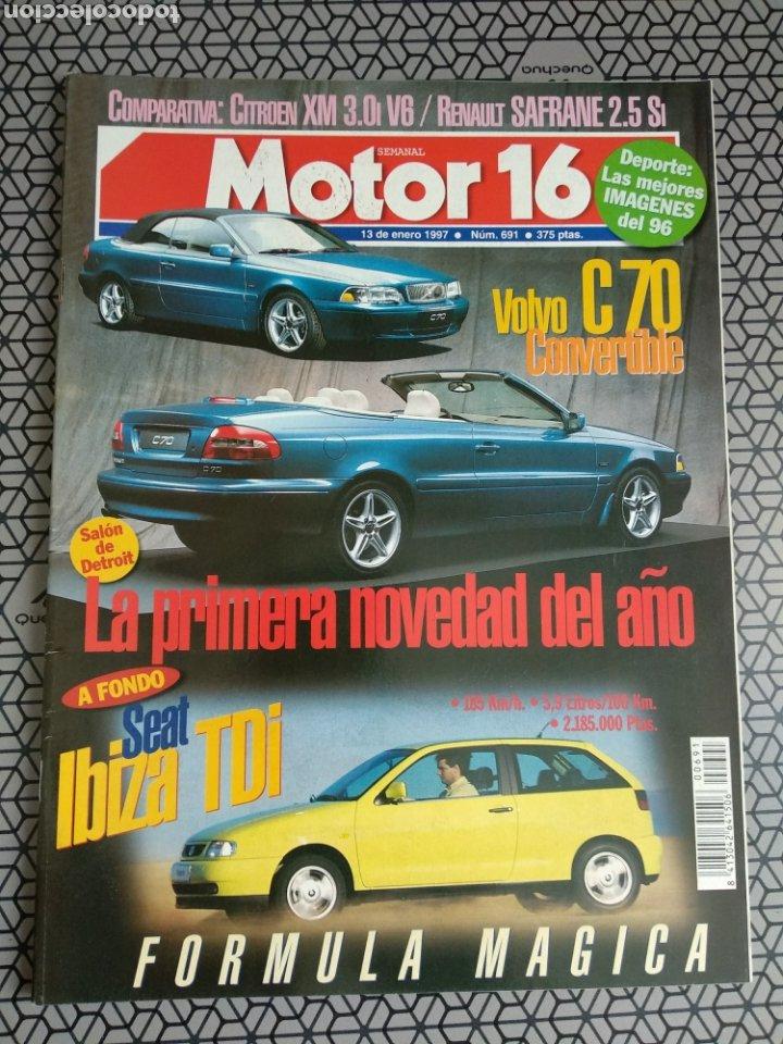 Coleccionismo de Revistas y Periódicos: Lote 50 revistas Motor 16 año 1997 - Foto 18 - 174488927