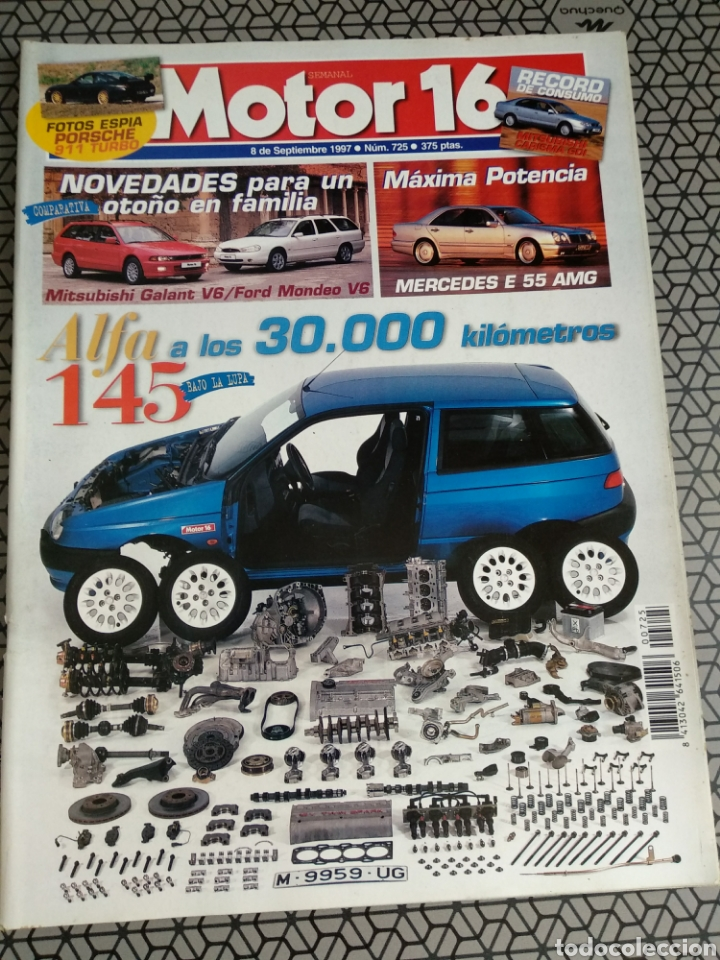 Coleccionismo de Revistas y Periódicos: Lote 50 revistas Motor 16 año 1997 - Foto 19 - 174488927