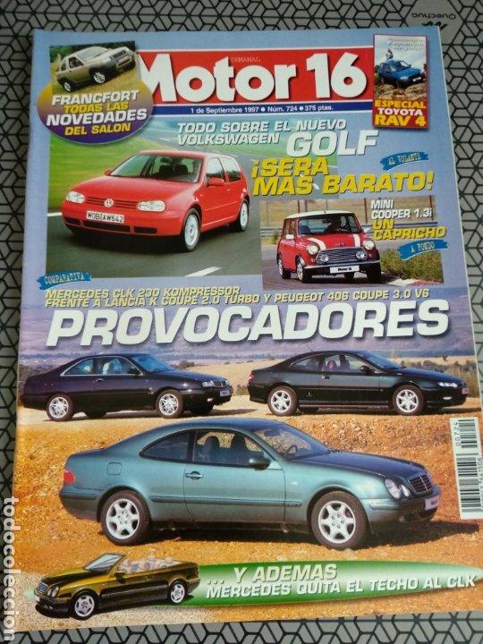 Coleccionismo de Revistas y Periódicos: Lote 50 revistas Motor 16 año 1997 - Foto 22 - 174488927