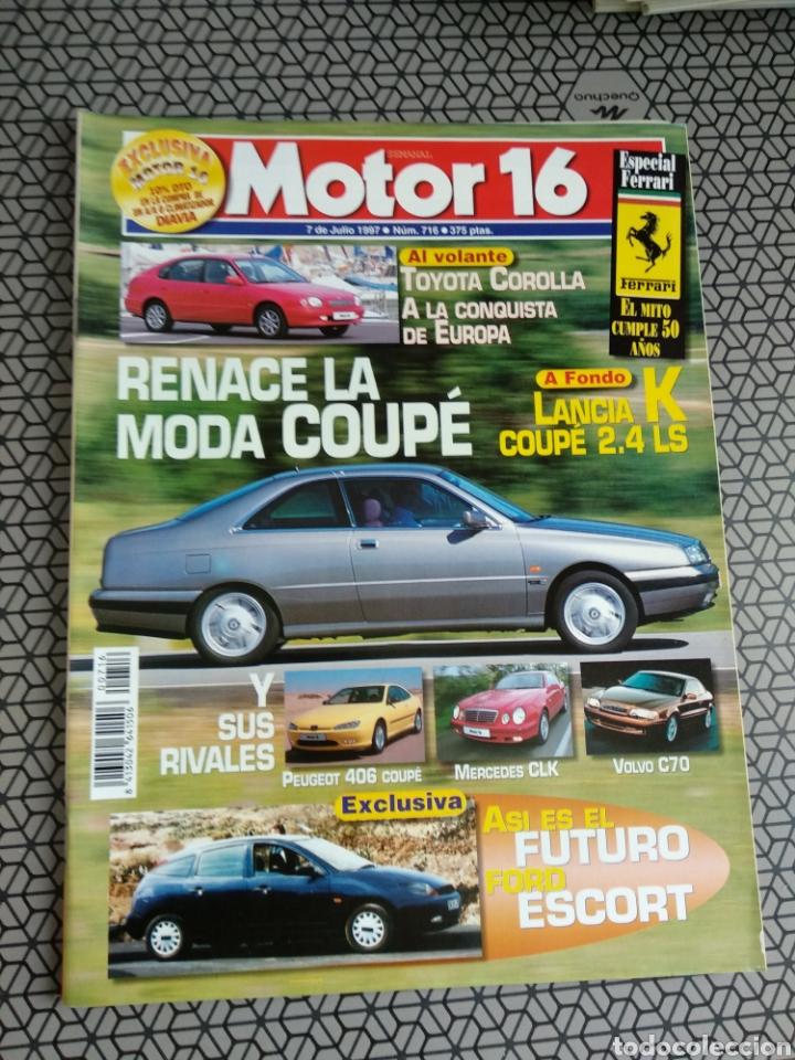 Coleccionismo de Revistas y Periódicos: Lote 50 revistas Motor 16 año 1997 - Foto 23 - 174488927