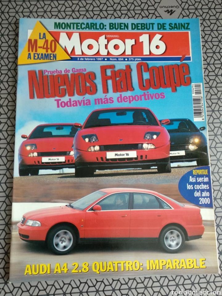 Coleccionismo de Revistas y Periódicos: Lote 50 revistas Motor 16 año 1997 - Foto 24 - 174488927