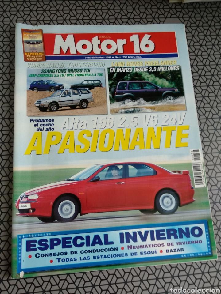 Coleccionismo de Revistas y Periódicos: Lote 50 revistas Motor 16 año 1997 - Foto 27 - 174488927