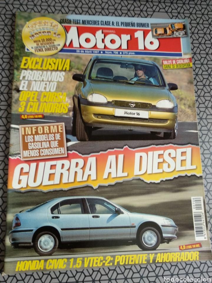 Coleccionismo de Revistas y Periódicos: Lote 50 revistas Motor 16 año 1997 - Foto 29 - 174488927