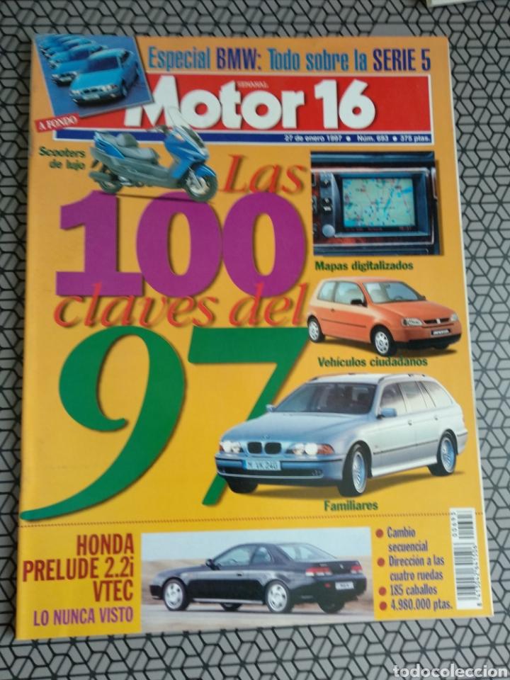 Coleccionismo de Revistas y Periódicos: Lote 50 revistas Motor 16 año 1997 - Foto 30 - 174488927