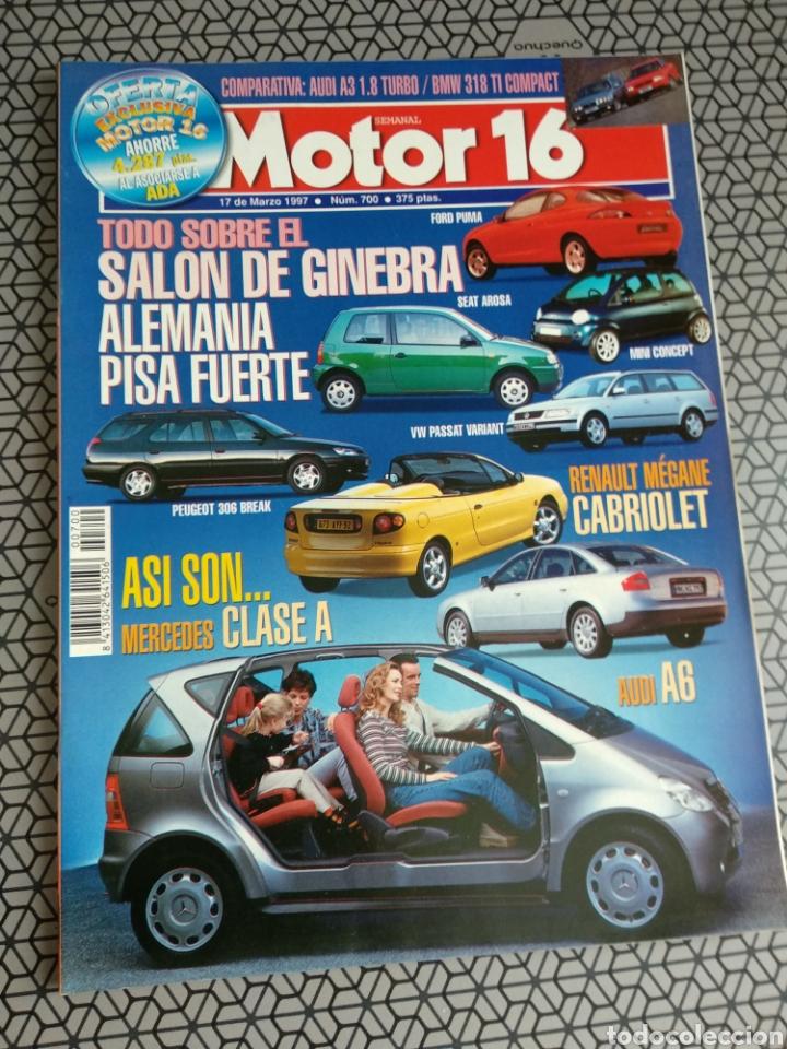 Coleccionismo de Revistas y Periódicos: Lote 50 revistas Motor 16 año 1997 - Foto 32 - 174488927
