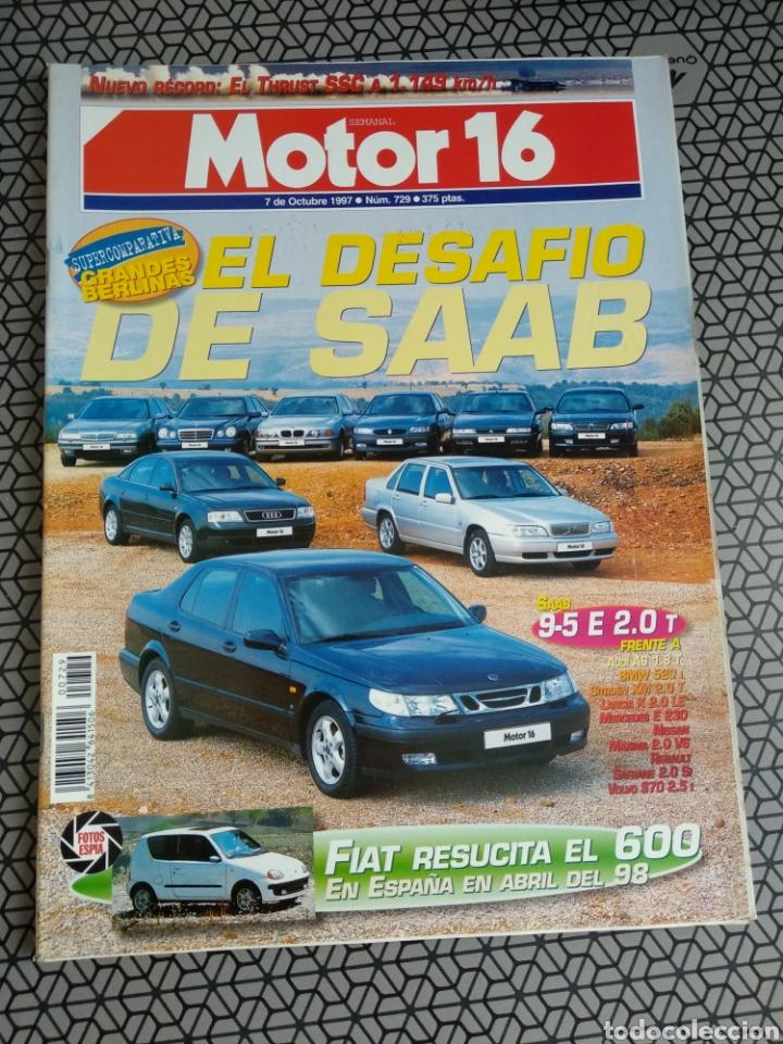 Coleccionismo de Revistas y Periódicos: Lote 50 revistas Motor 16 año 1997 - Foto 33 - 174488927