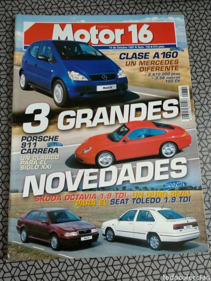 Coleccionismo de Revistas y Periódicos: Lote 50 revistas Motor 16 año 1997 - Foto 34 - 174488927