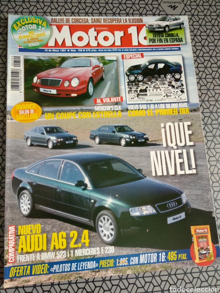 Coleccionismo de Revistas y Periódicos: Lote 50 revistas Motor 16 año 1997 - Foto 36 - 174488927